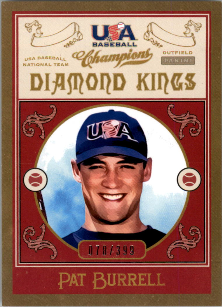 2013 USA Baseball Champions Diamond Kings #3 Pat Burrell