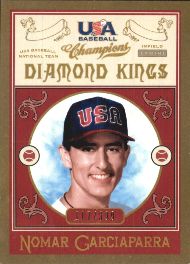 2013 USA Baseball Champions Diamond Kings #4 Nomar Garciaparra