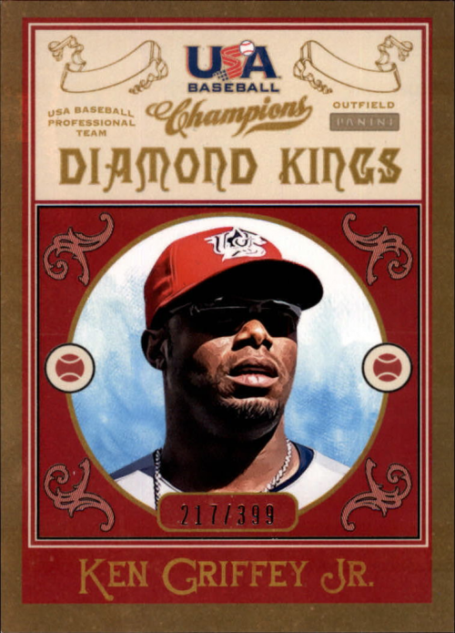 2013 USA Baseball Champions Diamond Kings #5 Ken Griffey Jr.
