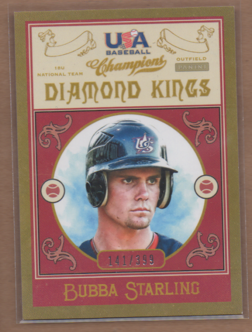 2013 USA Baseball Champions Diamond Kings #7 Bubba Starling