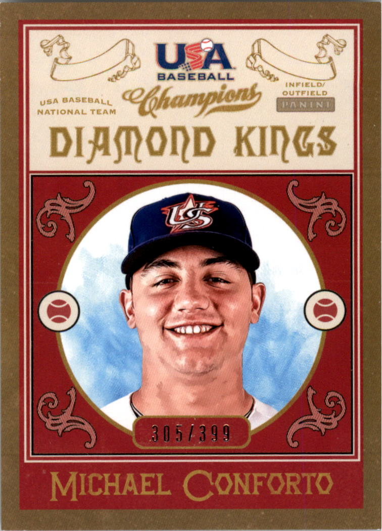2013 USA Baseball Champions Diamond Kings #8 Michael Conforto