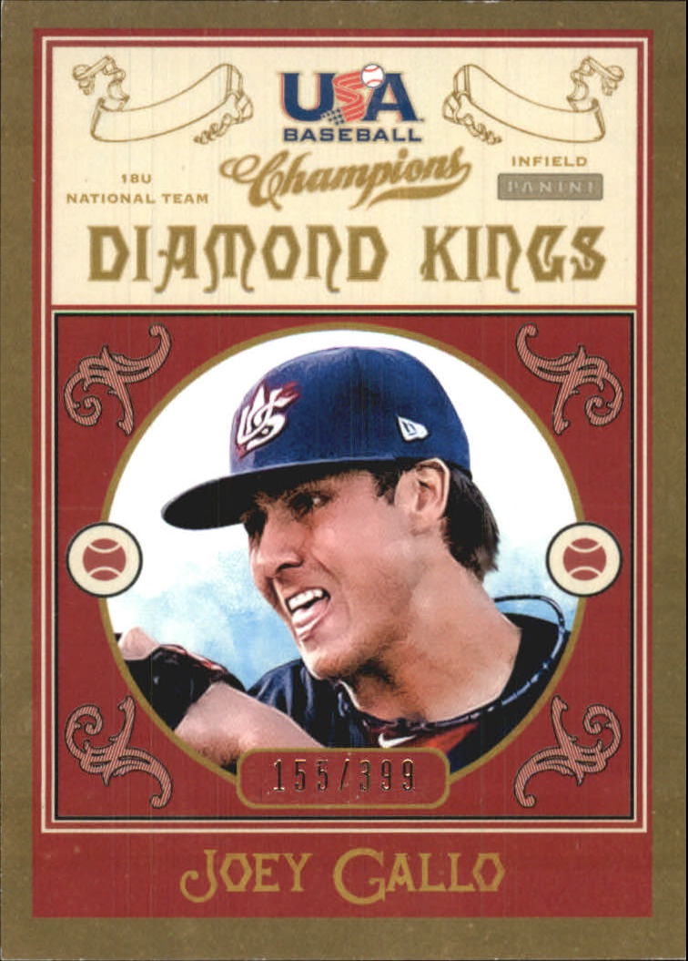 2013 USA Baseball Champions Diamond Kings #13 Joey Gallo