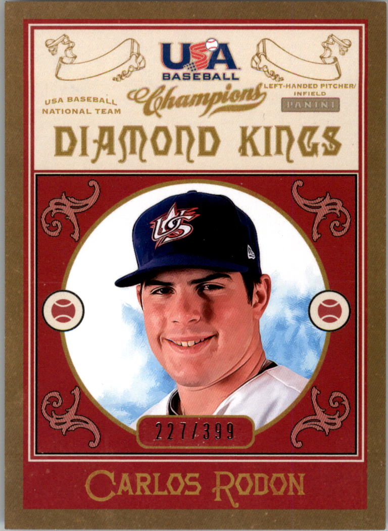 2013 USA Baseball Champions Diamond Kings #16 Carlos Rodon