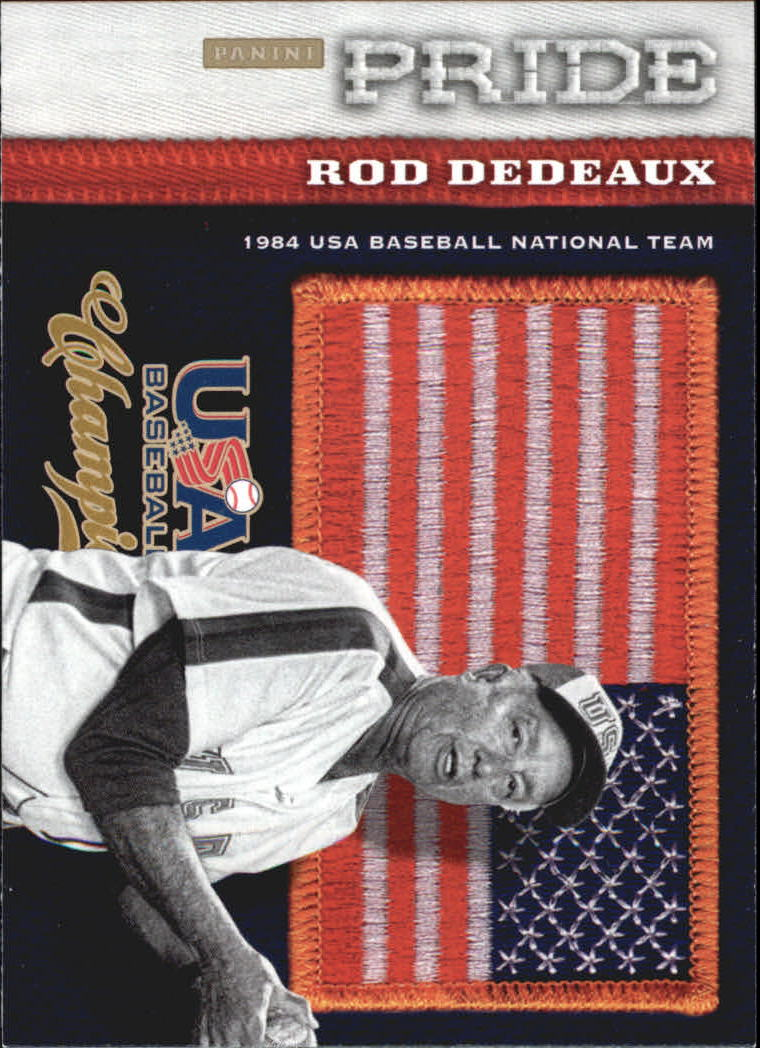 2013 USA Baseball Champions Pride #1 Rod Dedeaux