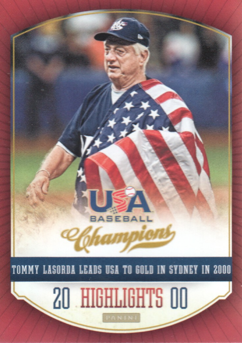 2013 USA Baseball Champions Highlights #4 Tommy Lasorda