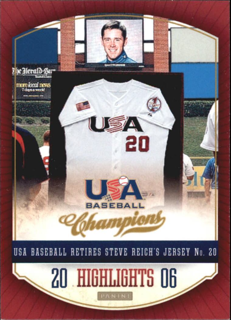 2013 USA Baseball Champions Highlights #9 Steve Reich