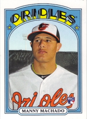 2013 Topps Archives #27 Manny Machado RC