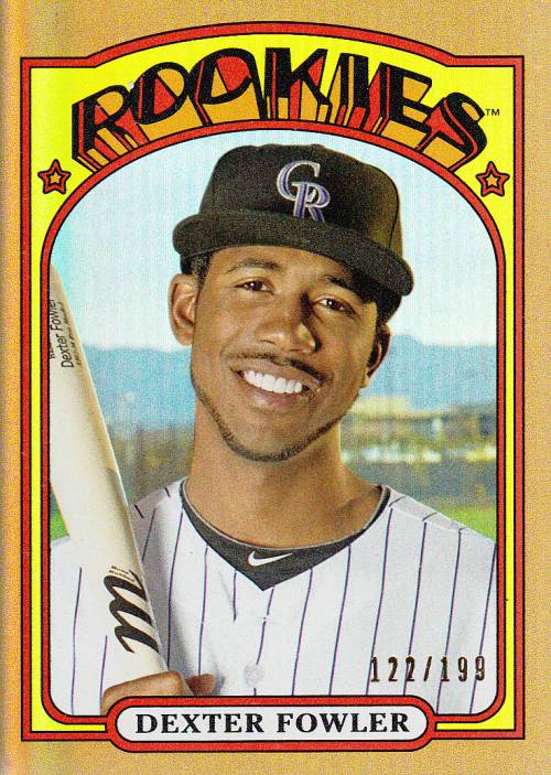 2013 Topps Archives Gold #25 Dexter Fowler