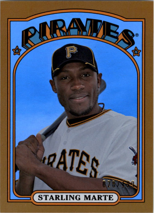 2013 Topps Archives Gold #43 Starling Marte