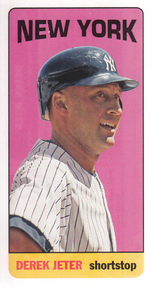 2013 Topps Archives Mini Tall Boys #DJ Derek Jeter