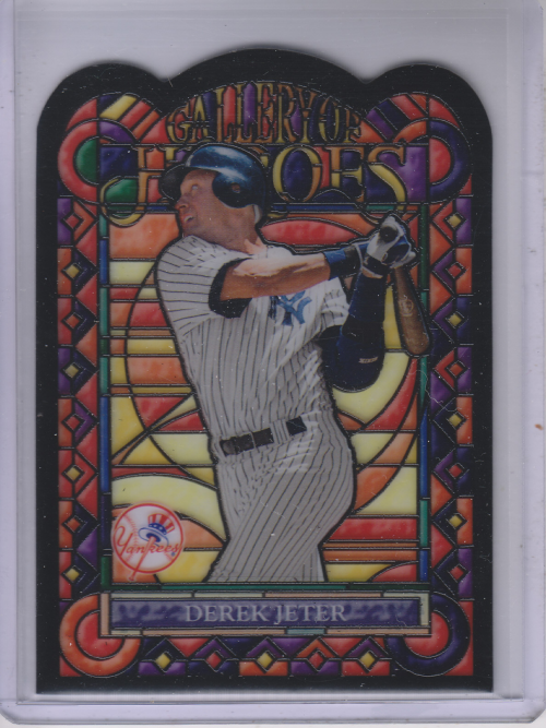 2013 Topps Archives Gallery Of Heroes #DJ Derek Jeter