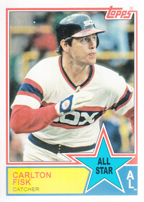 2013 Topps Archives 1983 All-Stars #CF Carlton Fisk