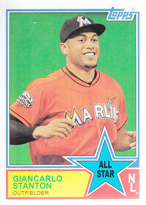 2013 Topps Archives 1983 All-Stars #GS Giancarlo Stanton