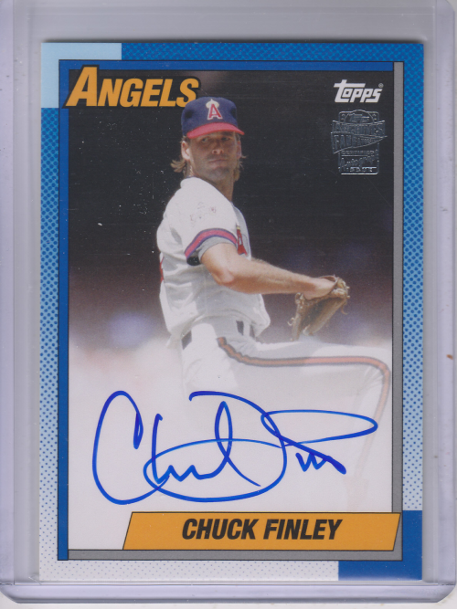 2013 Topps Archives Fan Favorites Autographs #CF Chuck Finley