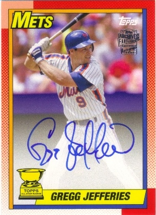 2013 Topps Archives Fan Favorites Autographs #GJ Gregg Jefferies