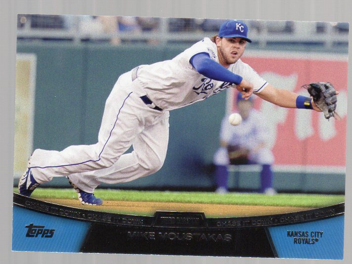 2013 Topps Chase It Down #CD6 Mike Moustakas