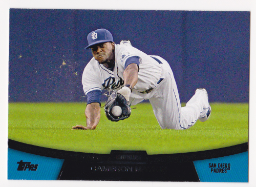 2013 Topps Chase It Down #CD14 Cameron Maybin