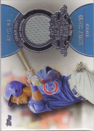 2013 Topps Making Their Mark Relics #SC Starlin Castro