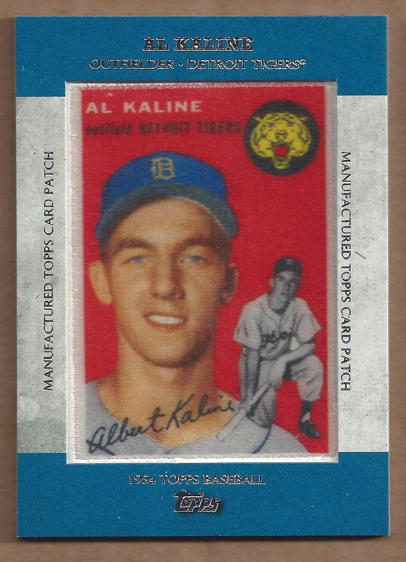 2013 Topps Manufactured Patch #MCP7 Al Kaline