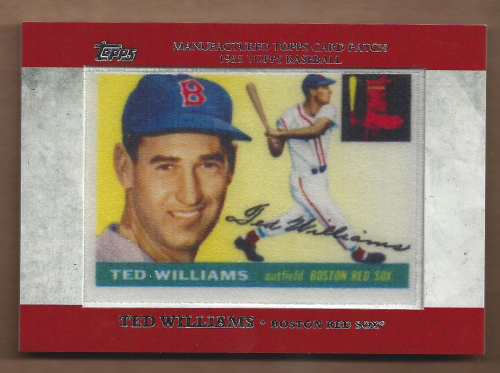 2013 Topps Manufactured Patch #MCP8 Ted Williams
