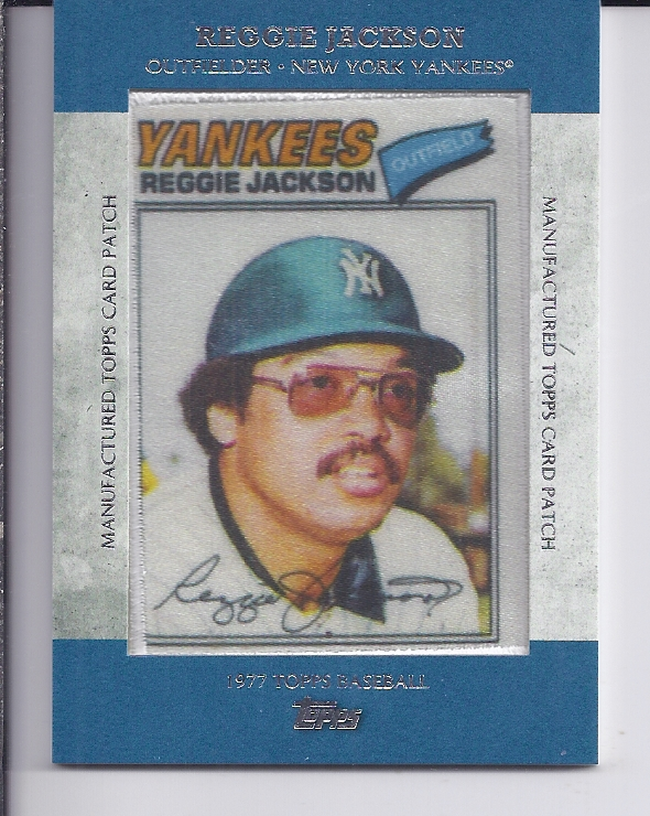 2013 Topps Manufactured Patch #MCP18 Reggie Jackson