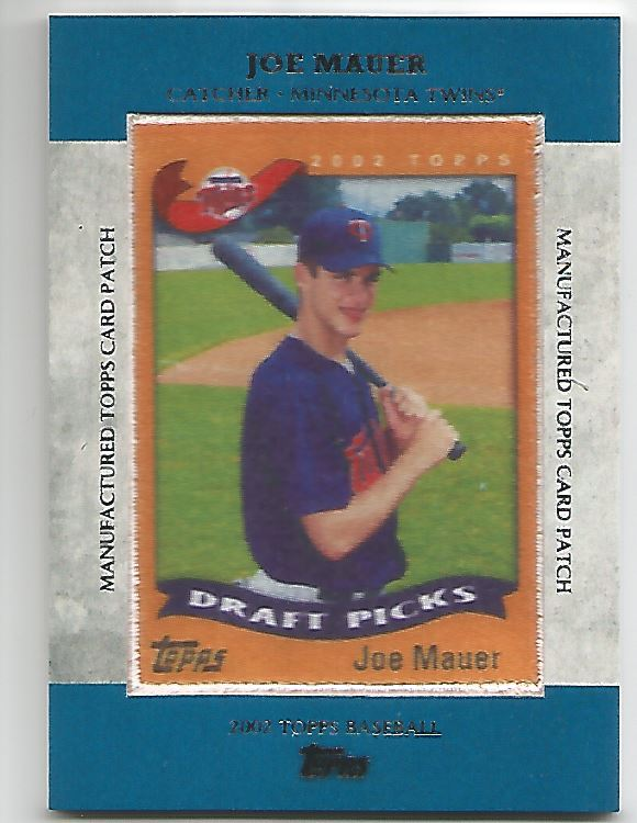 2013 Topps Manufactured Patch #MCP21 Joe Mauer