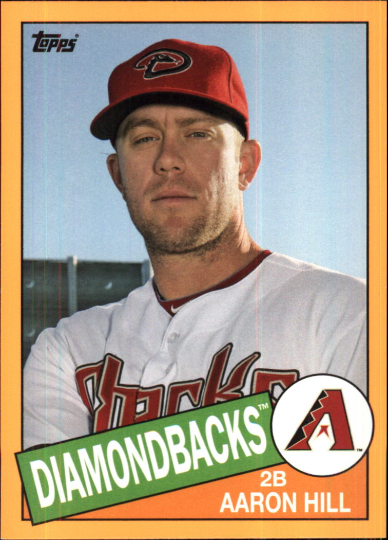 2013 Topps Archives Day Glow #126 Aaron Hill