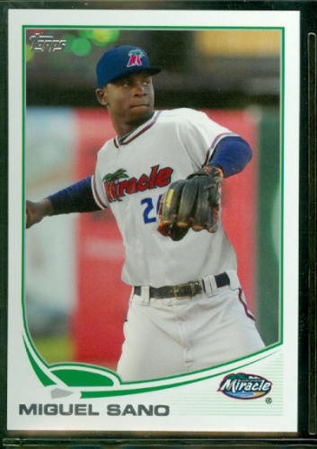 2013 Topps Pro Debut #66 Miguel Sano