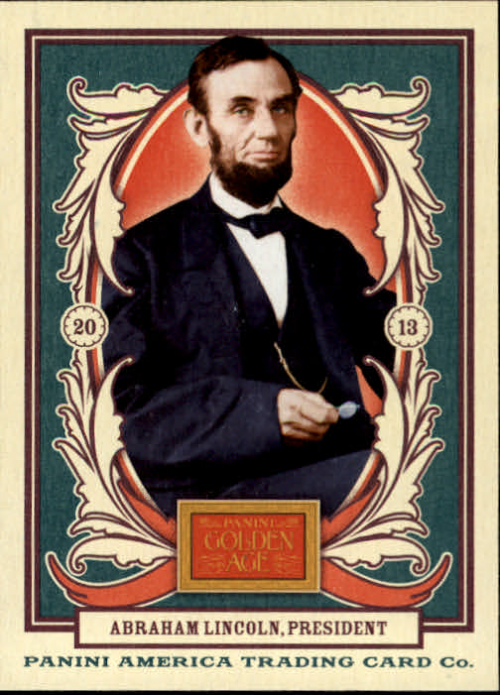 2013 Panini Golden Age #1 Abraham Lincoln