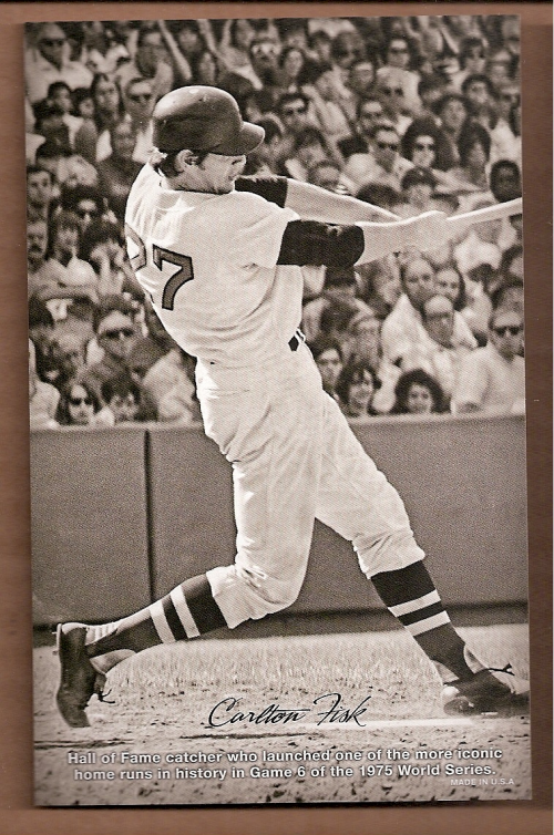 2013 Panini Golden Age Exhibits #4 Carlton Fisk