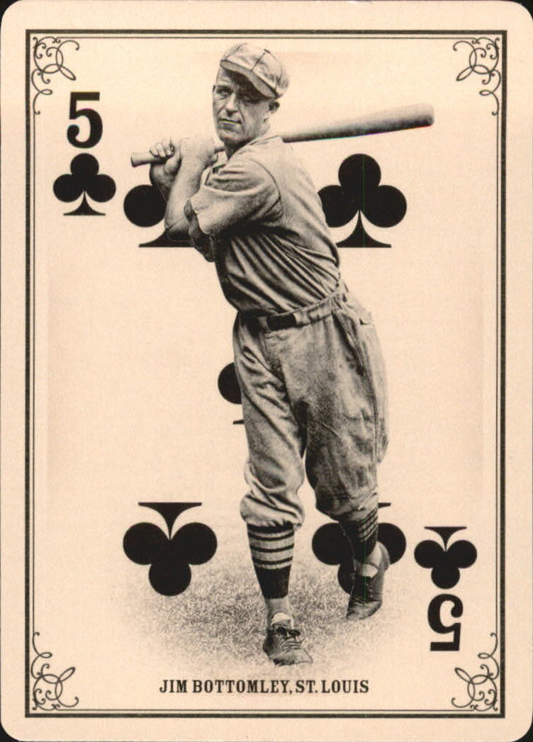 2013 Panini Golden Age Playing Cards #3 Jim Bottomley