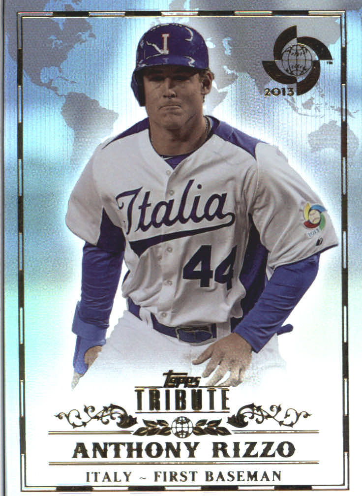 2013 Topps Tribute WBC #9 Anthony Rizzo