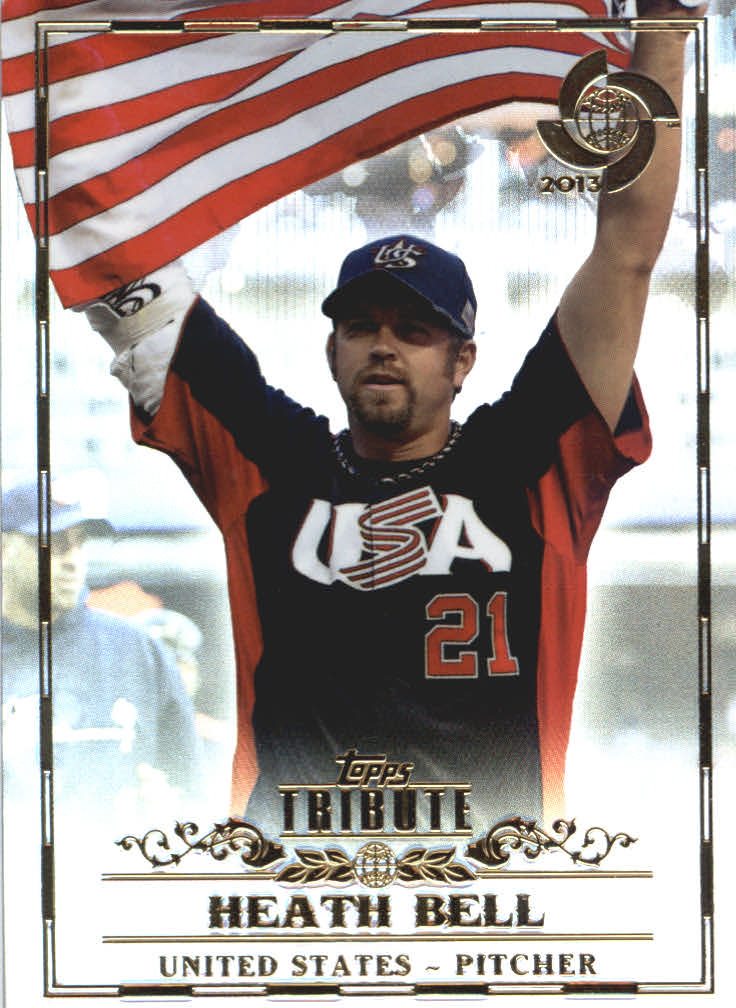 2013 Topps Tribute WBC #11 Heath Bell