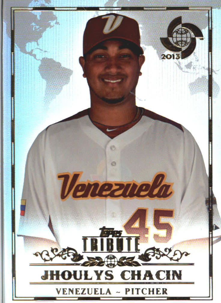 2013 Topps Tribute WBC #12 Jhoulys Chacin