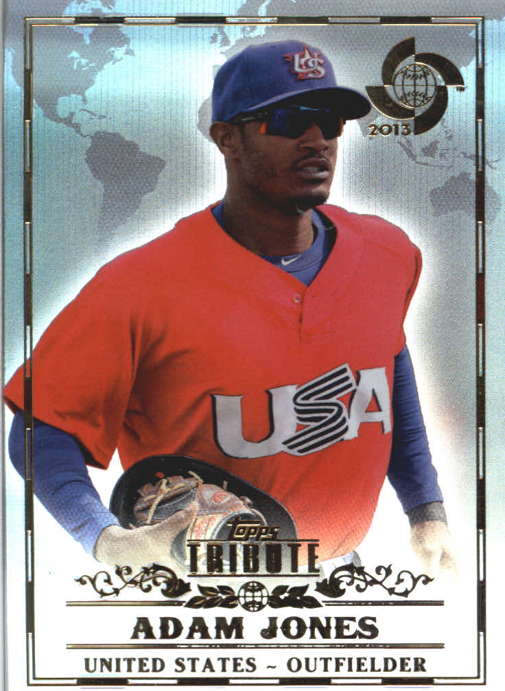 2013 Topps Tribute WBC #13 Adam Jones