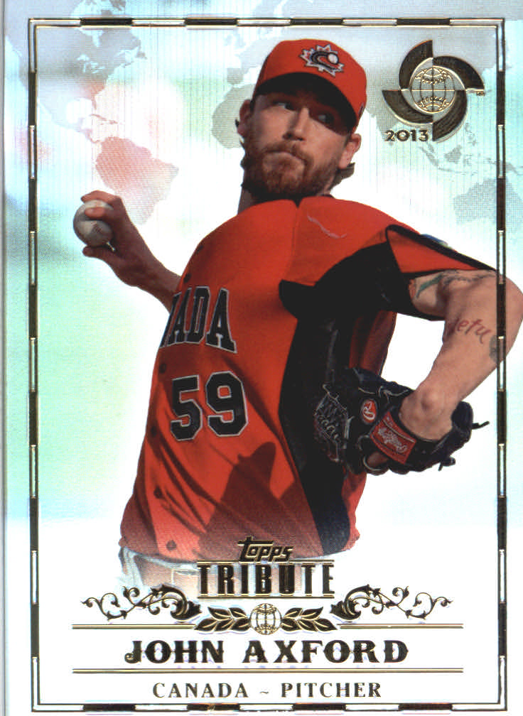 2013 Topps Tribute WBC #16 John Axford