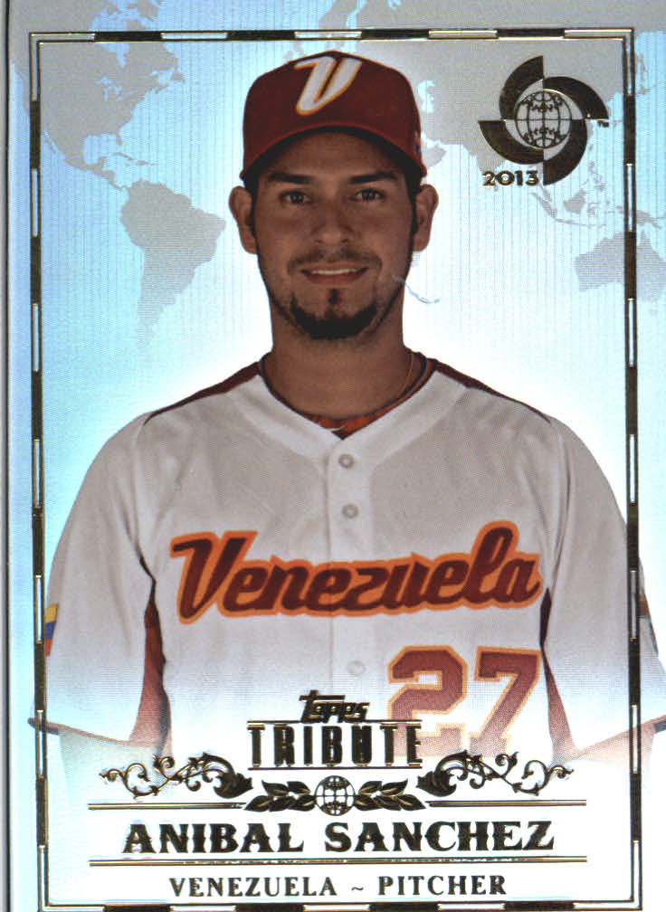 2013 Topps Tribute WBC #22 Anibal Sanchez