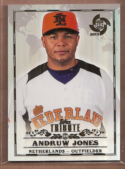 2013 Topps Tribute WBC #94 Andruw Jones