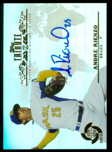 2013 Topps Tribute WBC Autographs #AR2 Andre Rienzo