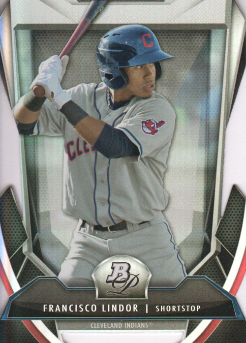 2013 Bowman Platinum Cutting Edge Stars #FL Francisco Lindor