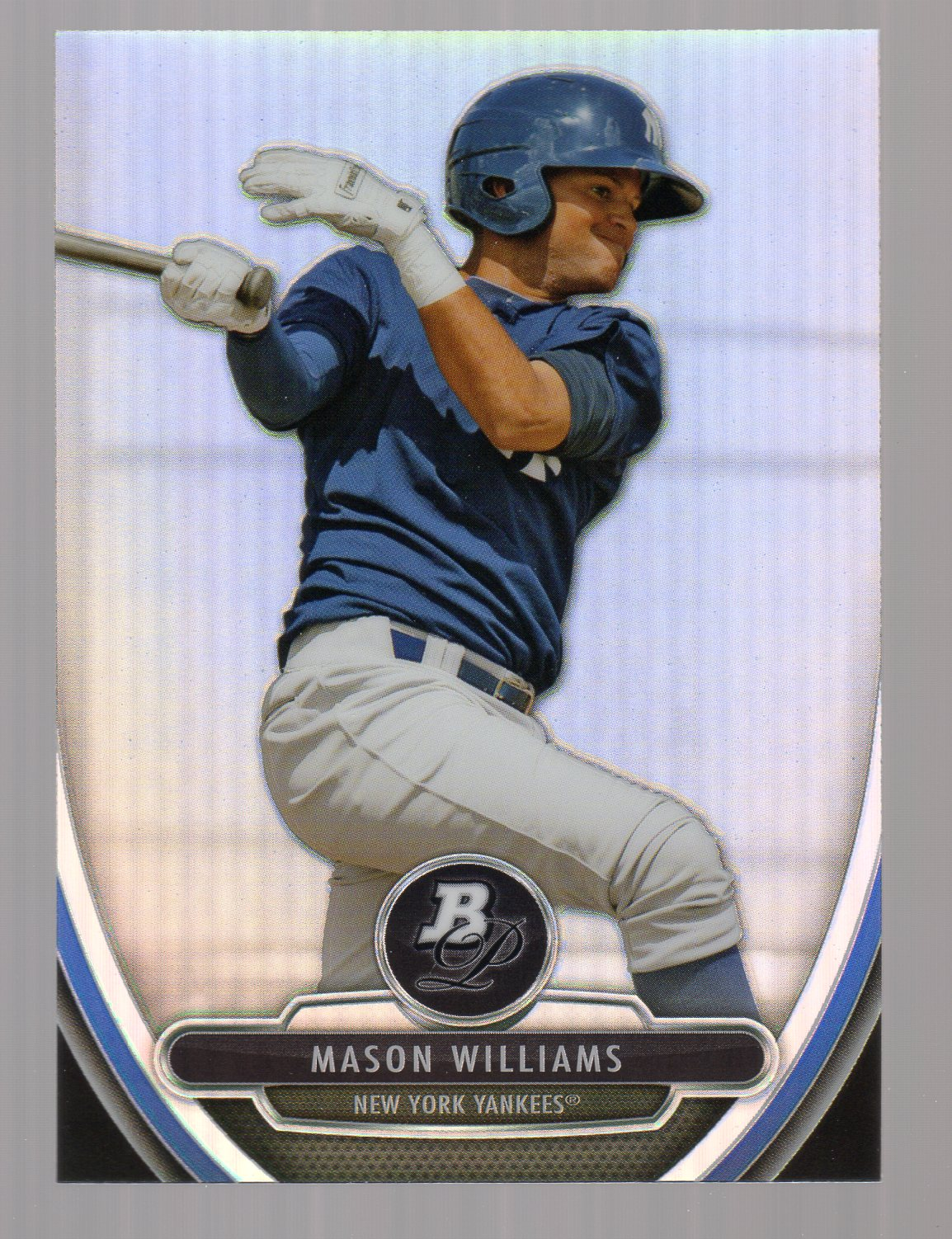 2013 Bowman Platinum Chrome Prospects Refractors #BPCP37 Mason Williams