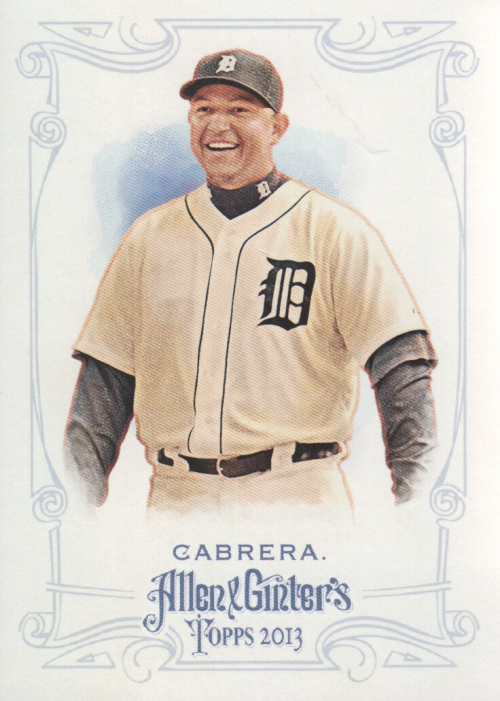 2013 Topps Allen and Ginter #1 Miguel Cabrera