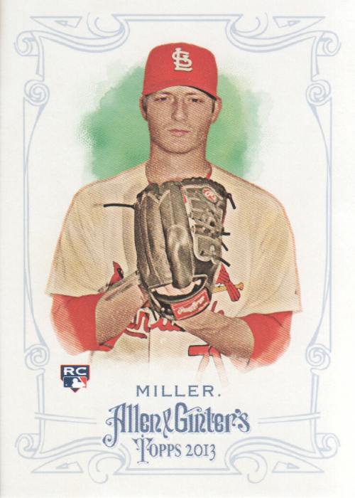 2013 Topps Allen and Ginter #27 Shelby Miller RC