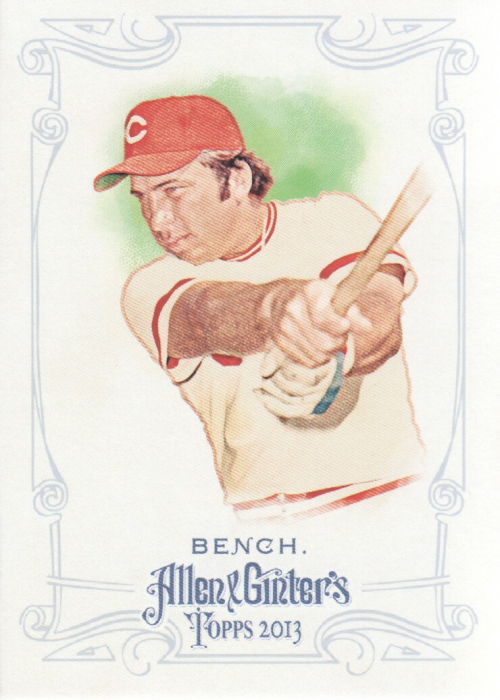 2013 Topps Allen and Ginter #38 Johnny Bench