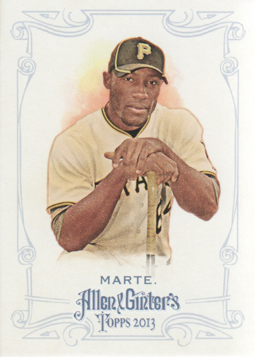 2013 Topps Allen and Ginter #48 Starling Marte