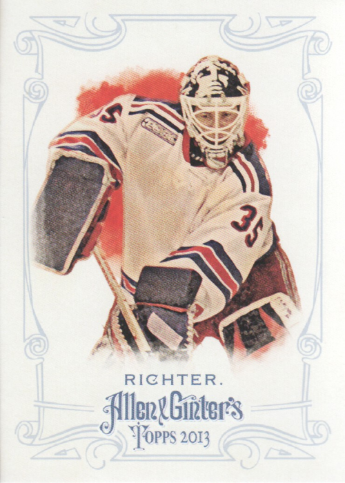 2013 Topps Allen and Ginter #104 Mike Richter