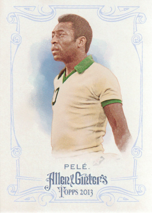 2013 Topps Allen and Ginter #130A Pele