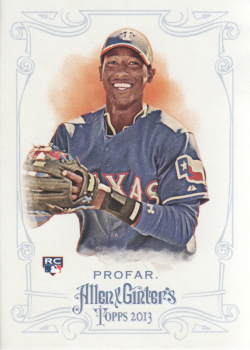 2013 Topps Allen and Ginter #156 Jurickson Profar RC