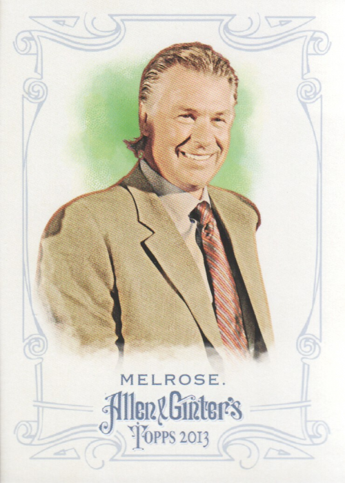 2013 Topps Allen and Ginter #212 Barry Melrose