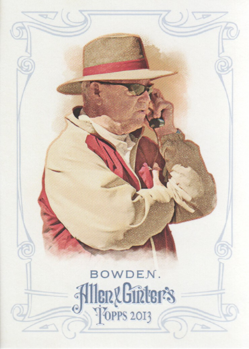 2013 Topps Allen and Ginter #255 Bobby Bowden